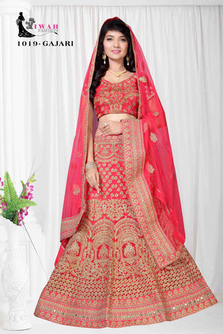 women's ethnic lehenga- Shop from most recent assortment of multi color Lehenga for ladies and young ladies Online. Purchase Lehenga suit, marriage @ best cost from Shop N Discount, be at your remarkable ethnic wear best with its assortment of fine lehengas in India. 24/7 Chat support available