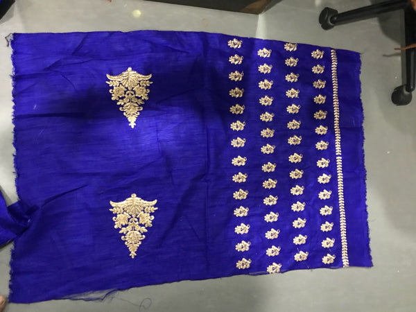 shop n discount-Hot Selling Designer Blue Lahnga