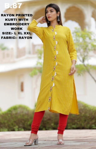 shop n discount - Jaipuri Cotton Printed Kurtis