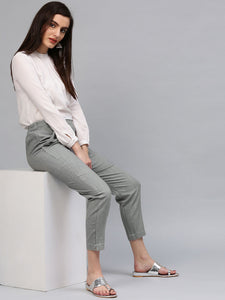 Palazzo Pant With Crop Top