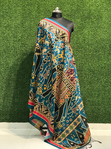 PF MONSOON FUSION 2019  ASSHAM SILK DUPATTA