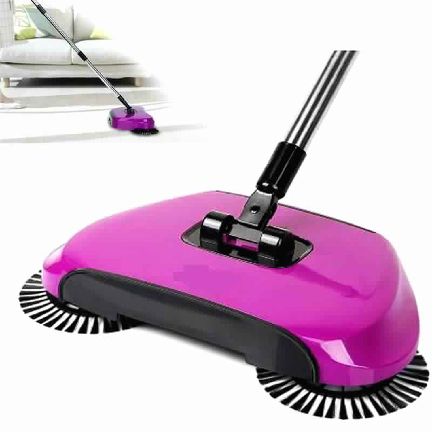 All in one Sweep Drag  Multi Functional Broom Machine for Home & Office