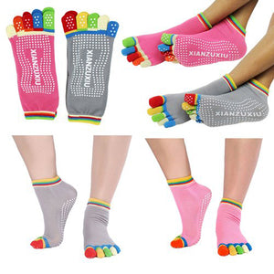 Five Finger Yoga Socks
