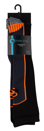 Stark Soul Sportsocke | Wintersocke mit Kompression Gelb / Orange / Grau