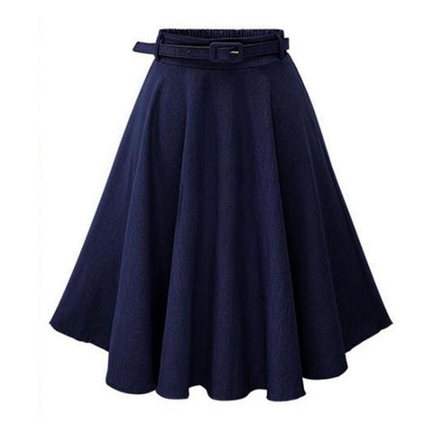 Women Denim Jeans Skirts
