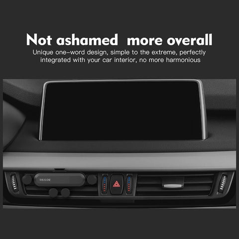 Gravity Car phone Holder For iphone X Xs Max Samsung S9 in Car Air Vent