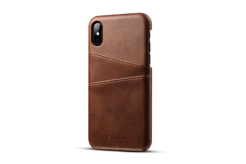 Image of Leather Card Holder Slots Phone Cases Pu  For For phone  Samsung