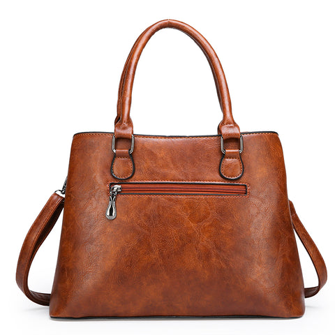 Image of 3 Sets Leather Women Handbags