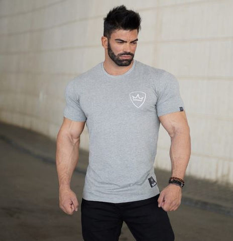 Image of Men Cotton Dry Fit Gym Training Tshirt