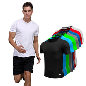 Running Men Designer Quick Dry T Shirts