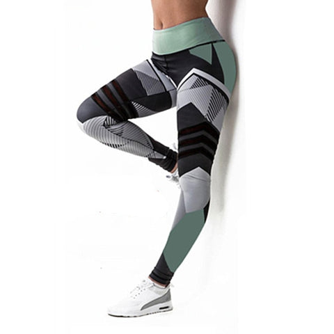 Image of Fitness Legging Slim Stretch Running Tights Women