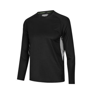 Men Long Sleeve Bodybuilding Sport Running Shirt