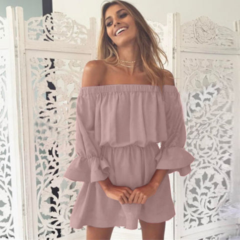 Image of Off Shoulder Dress