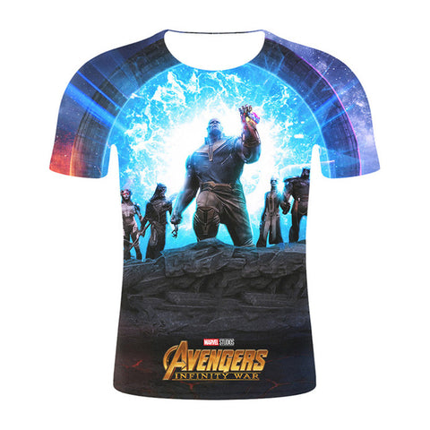 Image of Marvel Design t shirt men/women