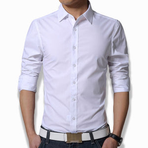 Men's Long Sleeve Fit Slim Shirt