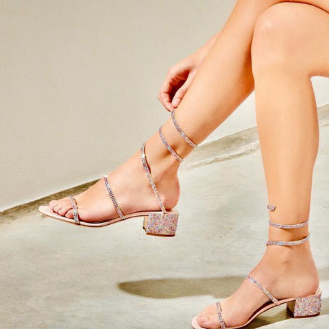 Image of Summer Crystal Gladiator Sandals