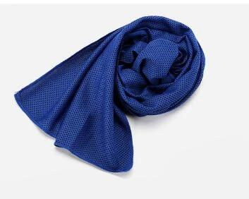 Image of Towel 9 Colors 90*30cm Utility Enduring Instant Cooling Face