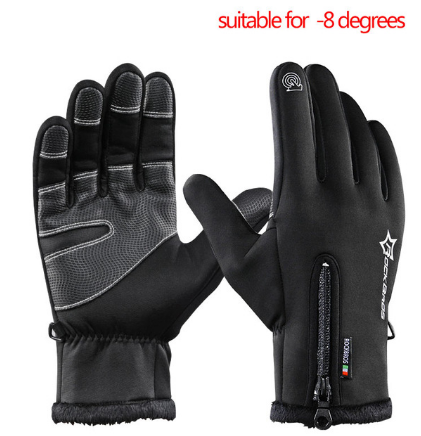 Image of Winter Thermal Windproof Warm Full Finger Glove
