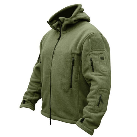 Image of Military Man Fleece Tactical Softshell Jacket