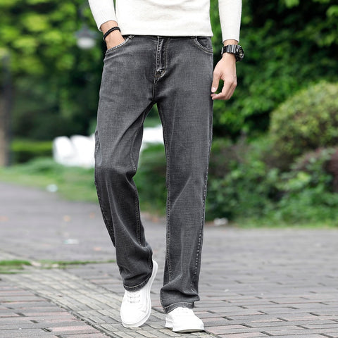 Image of Men Grey Casual Jeans