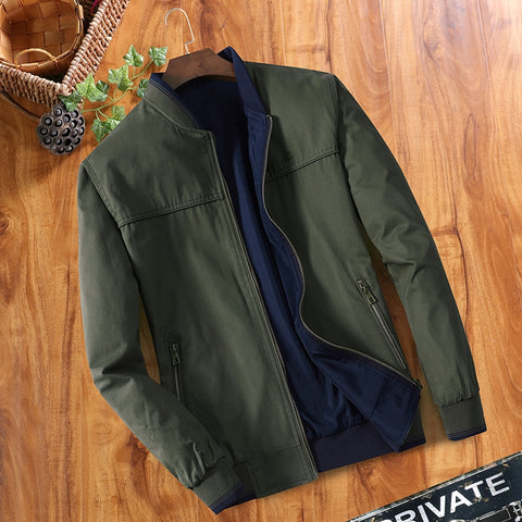 Image of Double-sided Middle-aged Men's Jacket