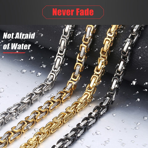 Image of Stainless Steel Chain Neckalaces for Men