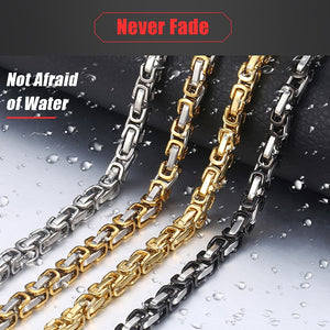 Stainless Steel Chain Neckalaces for Men