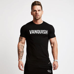 Men Cotton Dry Fit Gym Training Tshirt
