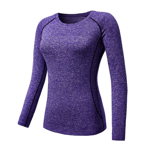 Image of Women Long Sleeve Workout/Fitness T Shirt