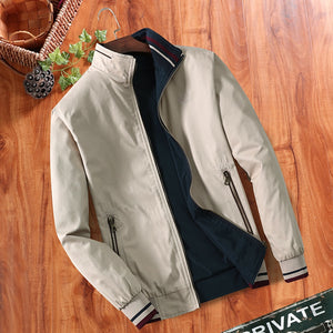 Double-sided Middle-aged Men's Jacket