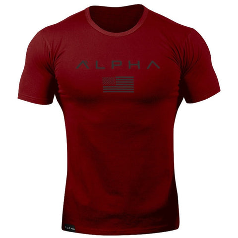 Image of Men Fitness Running Shirt