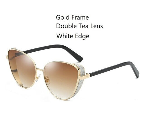 Image of Triangle Cat Eye Sunglasses