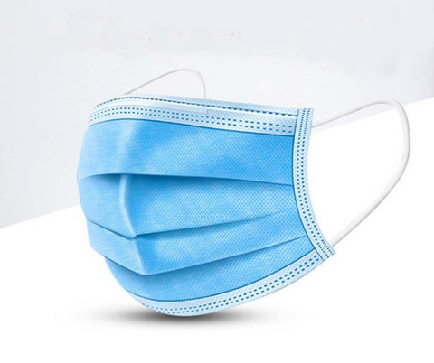 Image of 1pc Face Masks Disposable 3 Layers Dustproof Mask Facial Protective Cover