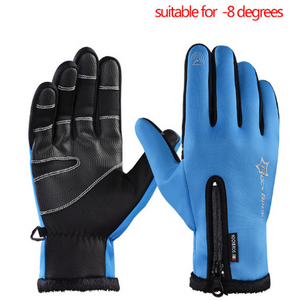 Winter Thermal Windproof Warm Full Finger Glove