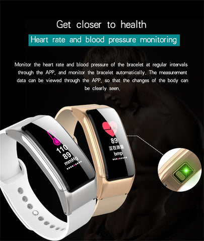Smart Bracelet Bluetooth Call Bracelet Headset