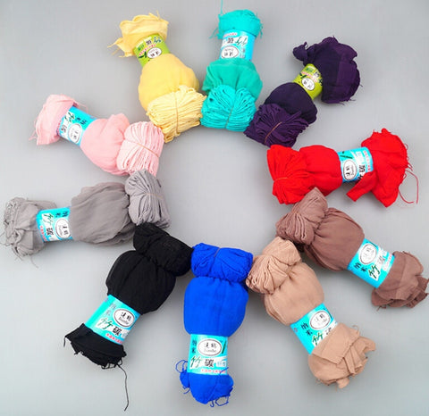 Image of 10 Pairs Multicolor Ankle High Nylon Socks