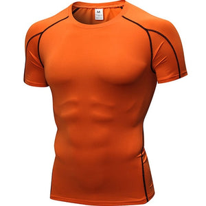 Men Running Fitness TShirt
