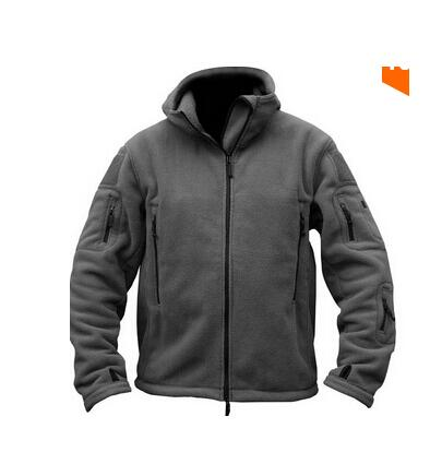 Military Man Fleece Tactical Softshell Jacket