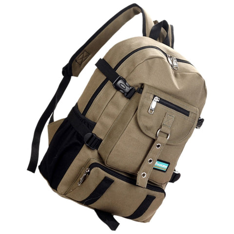 Image of Strap zipper casual backpack