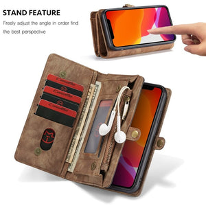 Luxury Leather Case for iPhone / Wallet