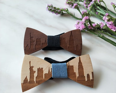 Wooden Gentleman Bow