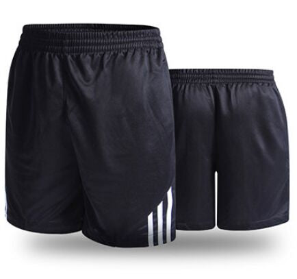 Stripe Zip Pocket Gym Shorts