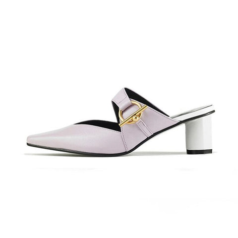 Image of Women's Pumps Round Heel