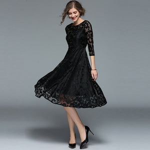 Elegant Slim Ladies Party Dress