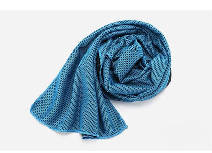 Towel 9 Colors 90*30cm Utility Enduring Instant Cooling Face