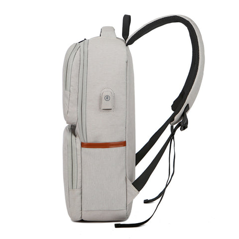 15.6 inch USB Charge Backpack Waterproof Laptop Backpack