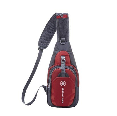 Fashion Crossbody Bag Casual Chest Pack Lightweight Ultra-Thin Waterproof