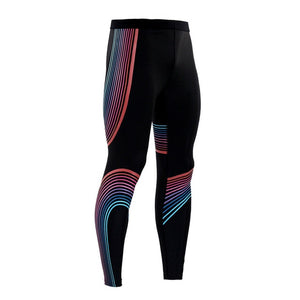 New Mens Running Tights Compression Pants MMA Gym Tight Joggers Yoga Leggings