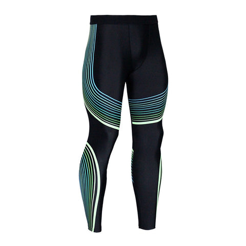 Image of New Mens Running Tights Compression Pants MMA Gym Tight Joggers Yoga Leggings