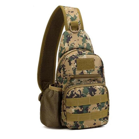 Image of Popular men's bags tactics  chest backpack high grade  tourism waterproof